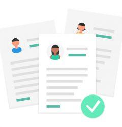 Documento de contrato de prácticas
