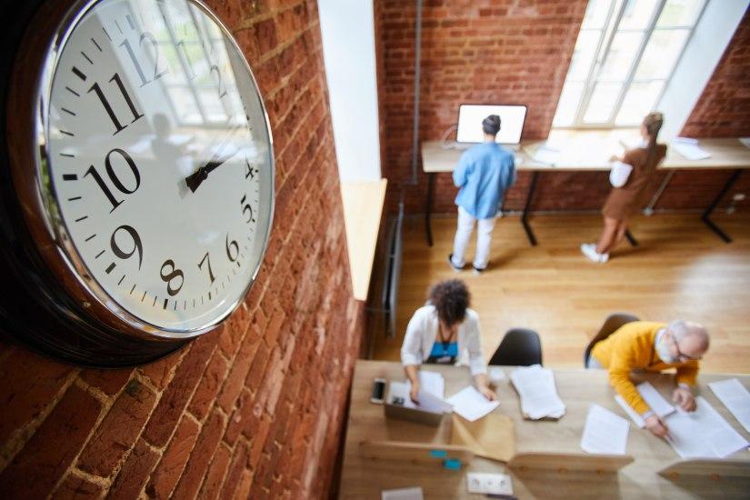 Control de tiempo de trabajo